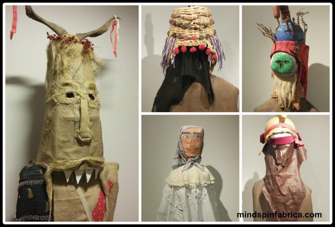 Διάφορες μάσκες από τη Συλλογή του Γιώργου Μελίκη