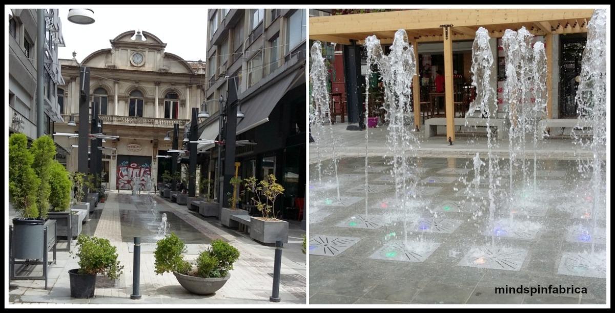 Έξοδος στην ανακαινισμένη Πλατεία Χρηματιστηρίου