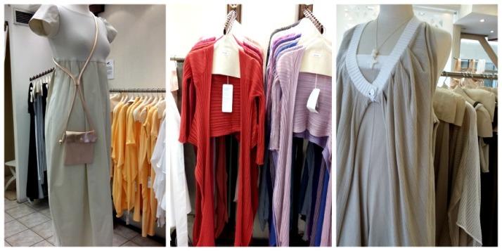 Ρούχα της σχεδιάστριας Ιωάννα Κουρμπέλα