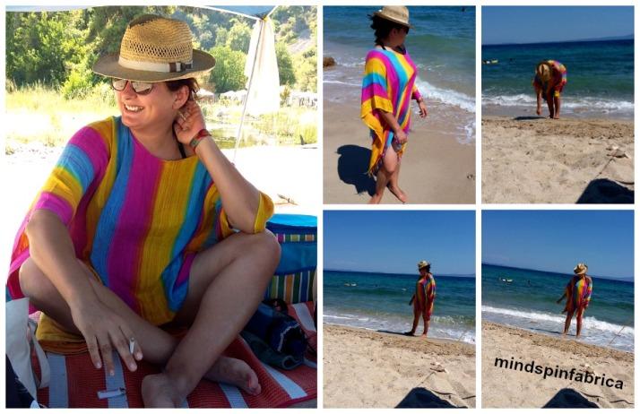 Μεταποίηση από παρεό σε φόρεμα παραλίας_mindspinfabrica