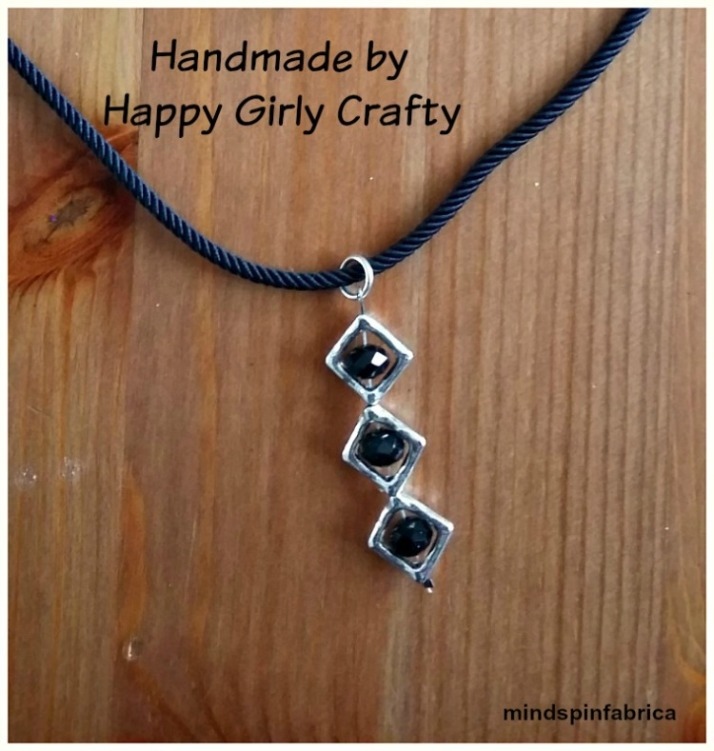 Handmade neckless by my secret santa_mindspinfabrica