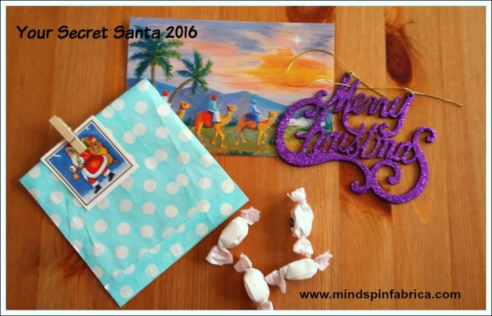 Gift by my secret santa 2016_ mindspinfabrica