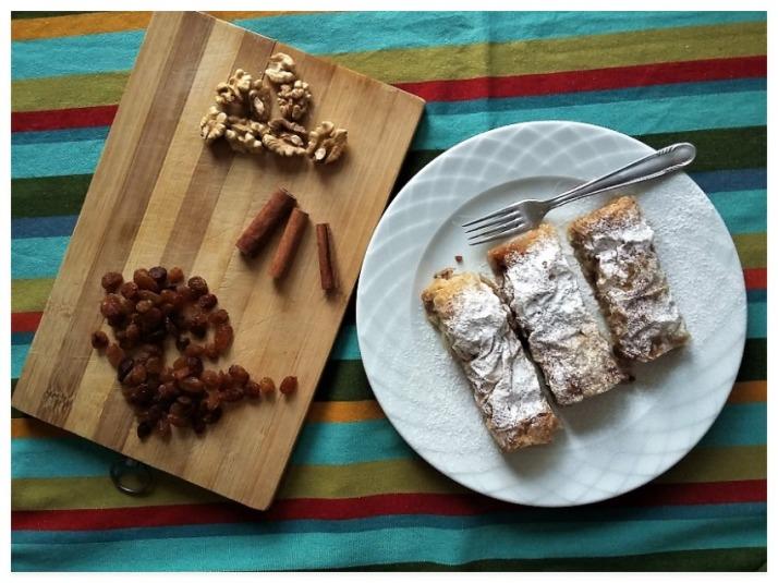 Νηστίσιμη γλυκιά ρυζόπιτα με σταφίδες και καρύδια_mindspinfabrica